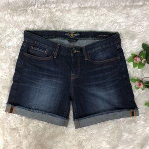 Lucky Brand Abbey Short - Denim Jean Shorts Sz 6